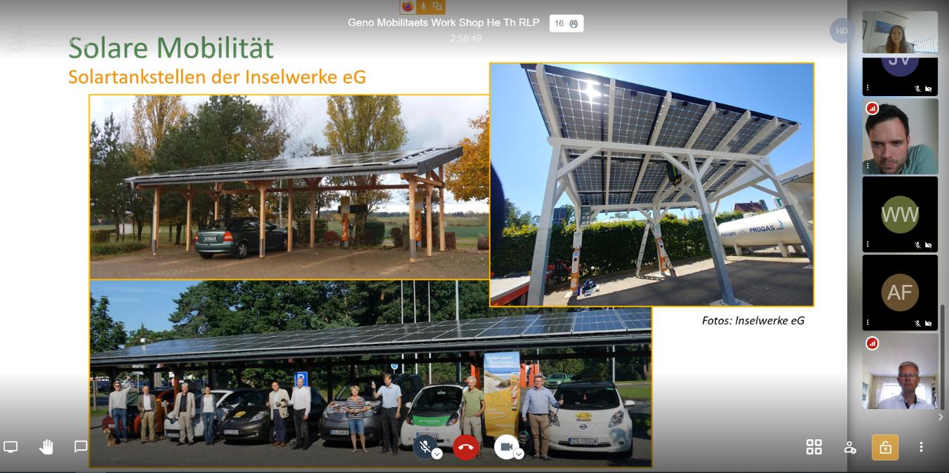 Workshop Solare Mobilität