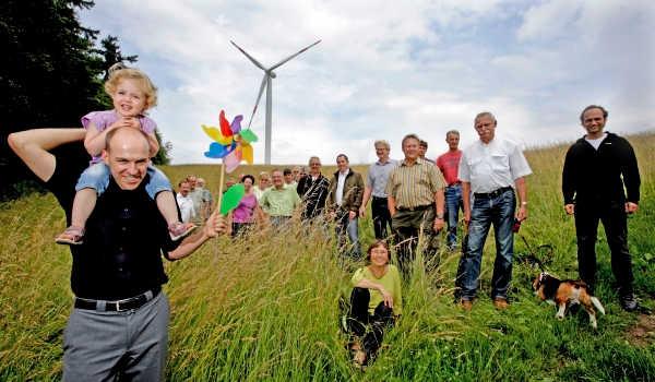 Portrait der Energiegenossenschaft Starkenburg